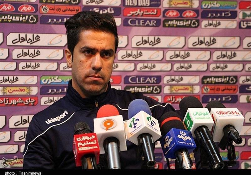 اصفهان، کریمیان: مثل دیدار با پرسپولیس بازی می کردیم، بدتر می باختیم