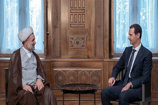 بشار اسد: جنگ در سوریه تنها با نابودی تروریسم انتها می یابد