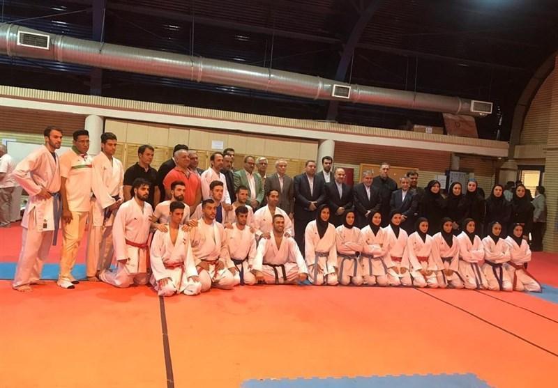 بازگشت گروه نخست ملی پوشان کاراته به ایران