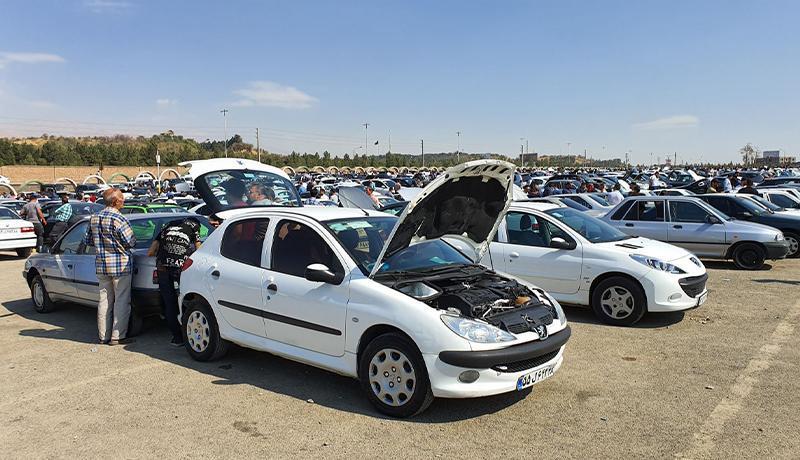 ریزش شدید قیمت خودرو ، ارزانی 20 تا 30 میلیون تومانی در یک روز!
