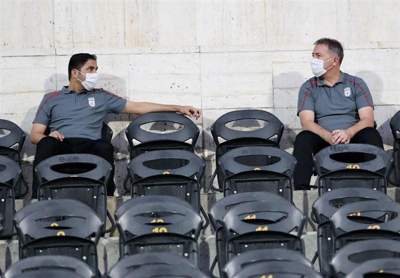 کادرفنی تیم ملی تماشاگر دربی