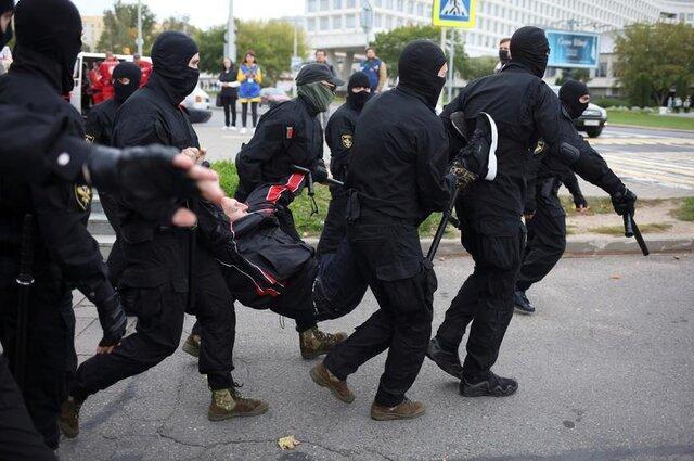 اعتراضات در بلاروس؛ دست کم 150 معترض بازداشت شدند