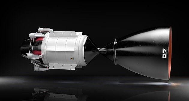 سفر سه ماهه به مریخ با موتور هسته ای