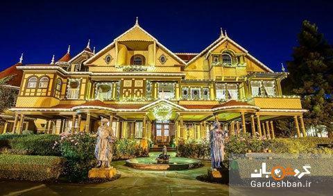 خانه تاریخی وینچستر؛از مکان های گردشگری اسرار آمیز در کالیفرنیا، عکس