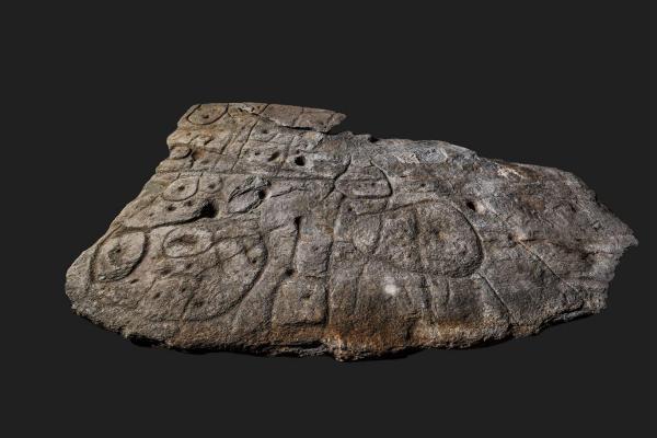 قدیمی ترین نقشه اروپا؛ برروی تخته سنگِ حکاکی شده